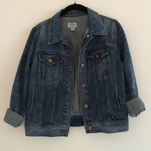 J. Crew Denim Jacket - like new!